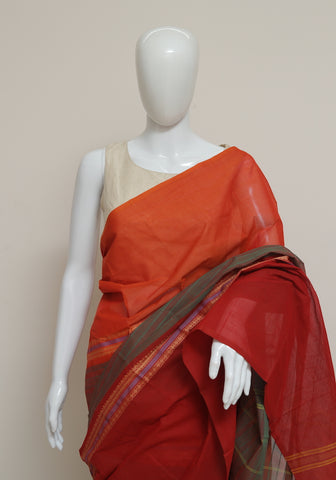 Chettinad Handloom Cotton Saree Design 97