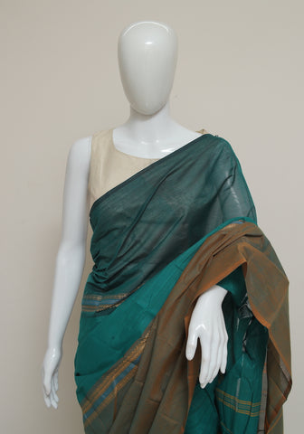Chettinad Handloom Cotton Saree Design 99