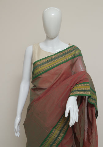 Chettinad Handloom Cotton Saree Design 100