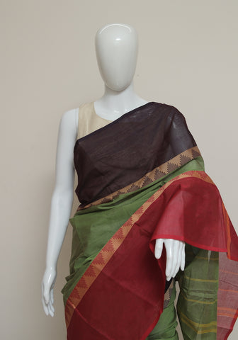 Chettinad Handloom Cotton Saree Design 105
