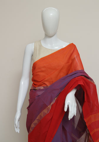Chettinad Handloom Cotton Saree Design 104