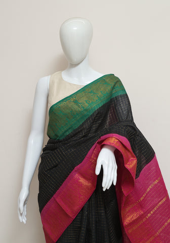 Sungudi Saree Design 124