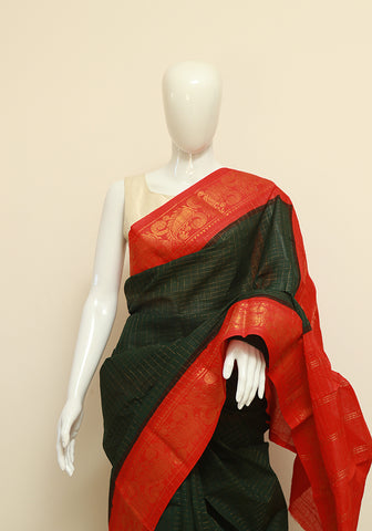 Sungudi Saree Design 17