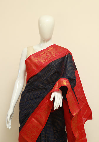 Sungudi Saree Design 20