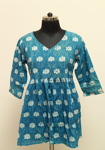 Block Printed Top Design 6