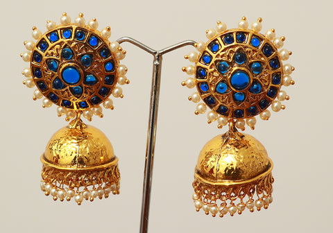Temple Earrings Design 1