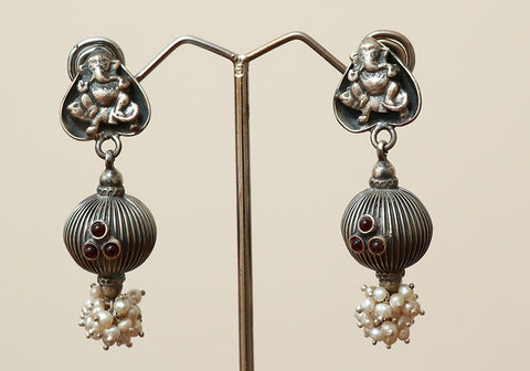 Sterling Silver Earrings Design 18