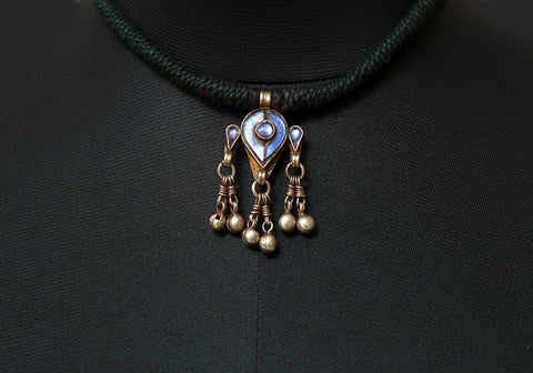 Tribal Silver Necklace Design 2