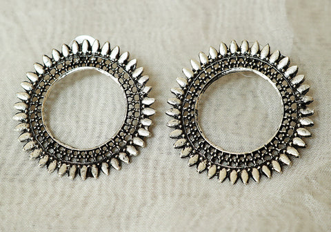 Tribal Afghan Earrings Design 190