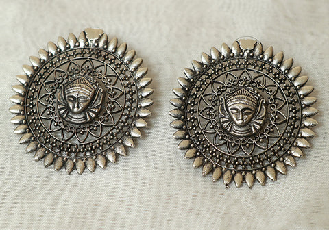Tribal Afghan Earrings Design 192
