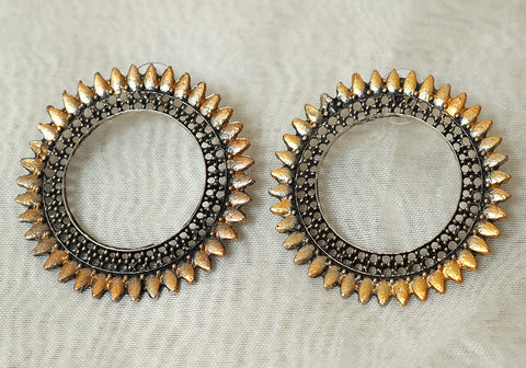 Tribal Afghan Earrings Design 191