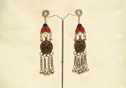 Tribal Afghan Earrings Design 4