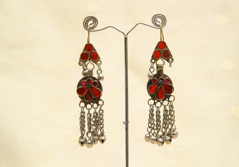 Tribal Afghan Earrings Design 6