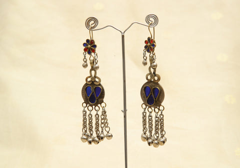 Tribal Afghan Earrings Design 8