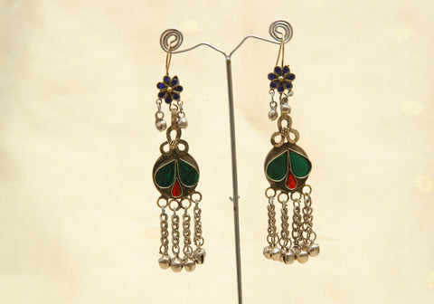 Tribal Afghan Earrings Design 9