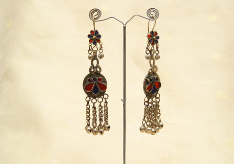 Tribal Afghan Earrings Design 11
