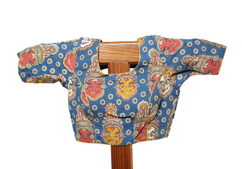 Kalamkari Readymade Blouse Design 12