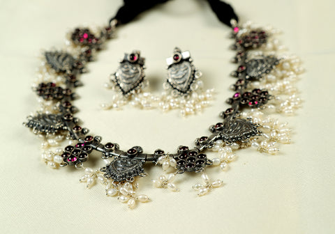 Gutta Pusalu Necklace Set Design 1