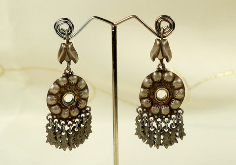Pure Silver Earrings Design 2