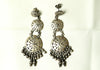 Pure Silver Earrings with Filigree work