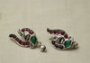 Sterling Silver Earrings  With Stones Design 169