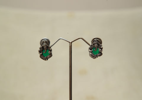 Sterling Silver Earrings  With Stones Design 160