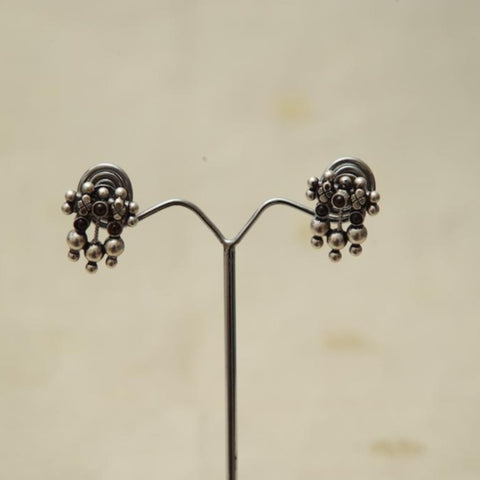 Sterling Silver Earrings  With Stones Design 173
