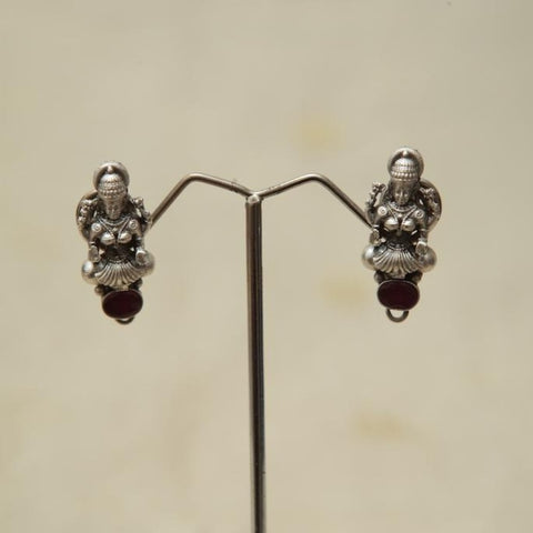 Sterling Silver Earrings  With Stones Design 153