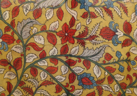 Kalamkari Readymade Blouse Design 25