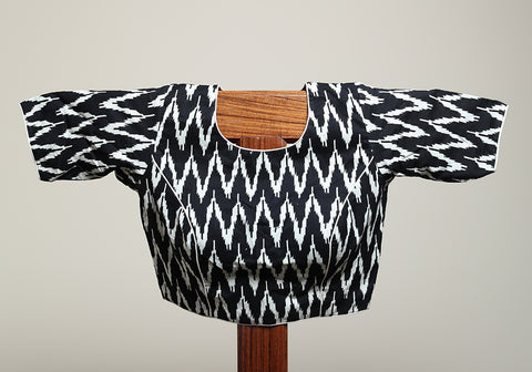 Cotton Readymade Blouse Design 1 (Not Ikat)