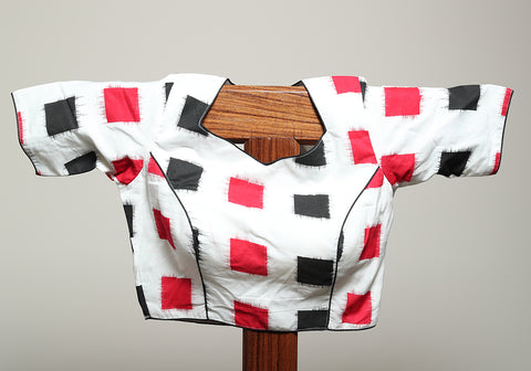 Cotton Readymade Blouse Design 4 (Not Ikat)