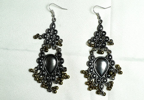 Tribal Afghan Earrings Design 177