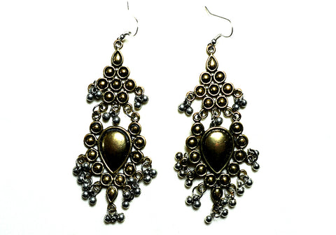 Tribal Afghan Earrings Design 183