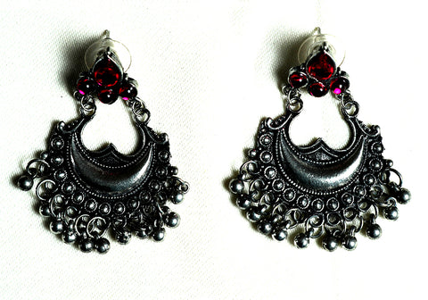 Tribal Afghan Earrings Design 185