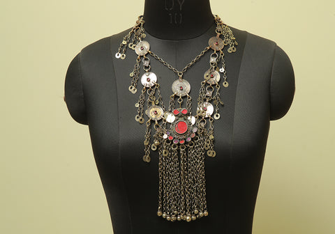 Antique Tribal Afghan Necklace Design 27