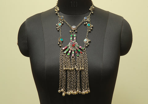 Antique Tribal Afghan Necklace Design 33