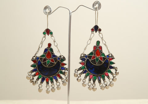 Tribal Afghan Earrings Design 1