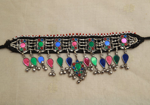 Tribal Afghan Necklace design 38