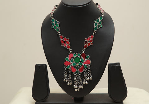 Tribal Afghan Necklace design 39