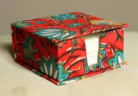 Block Printed Slip Box Design 2