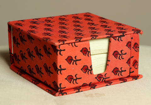 Block Printed Slip Box Design 5