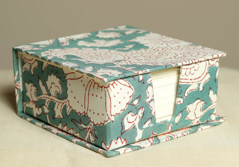 Block Printed Slip Box Design 8