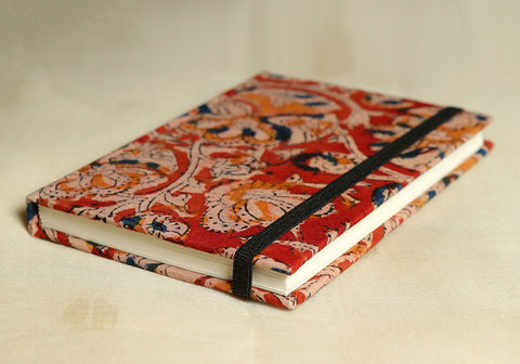 Notebook with Block Printed Cover Design 21