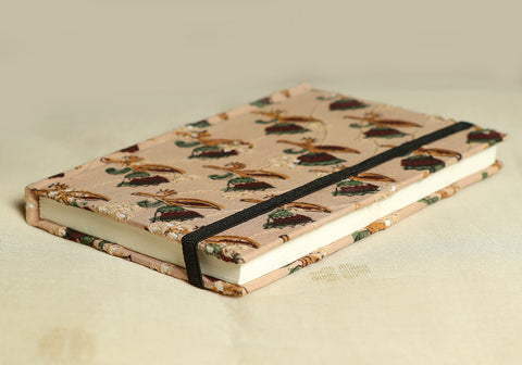 Notebook with Block Printed Cover Design 22