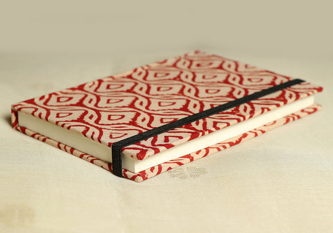 Notebook with Block Printed Cover Design 23