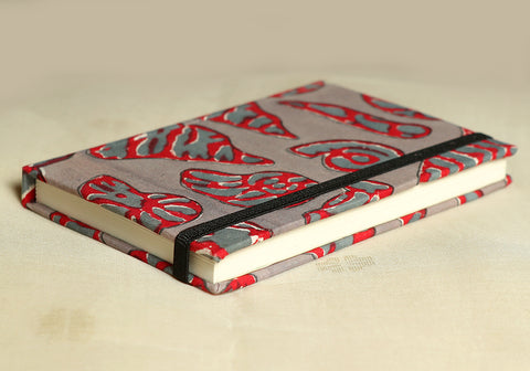 Notebook with Block Printed Cover Design 24