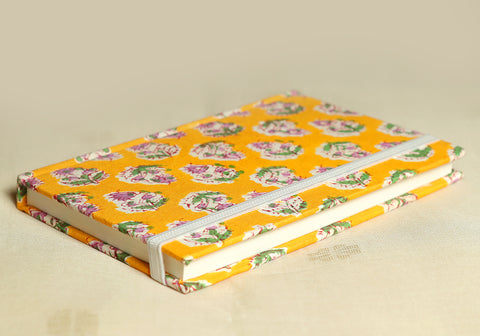 Notebook with Block Printed Cover Design 29