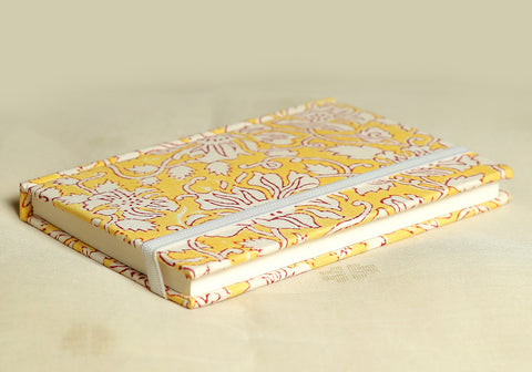 Notebook with Block Printed Cover Design 31
