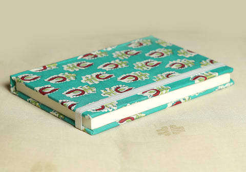 Notebook with Block Printed Cover Design 33