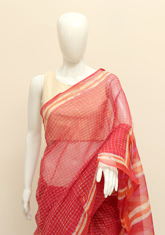 Block Printed Kota Saree Design 7